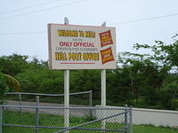 Yes, Hell is a real town in Grand Cayman.  It has a post office, so you can send postcards from Hell!