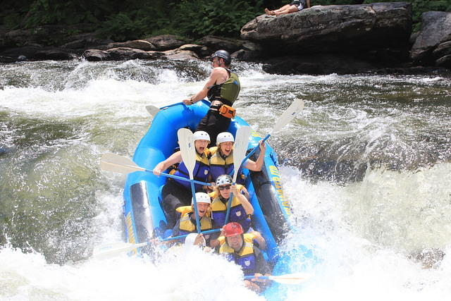 White Water Rafting Bull Sluice Chattooga River