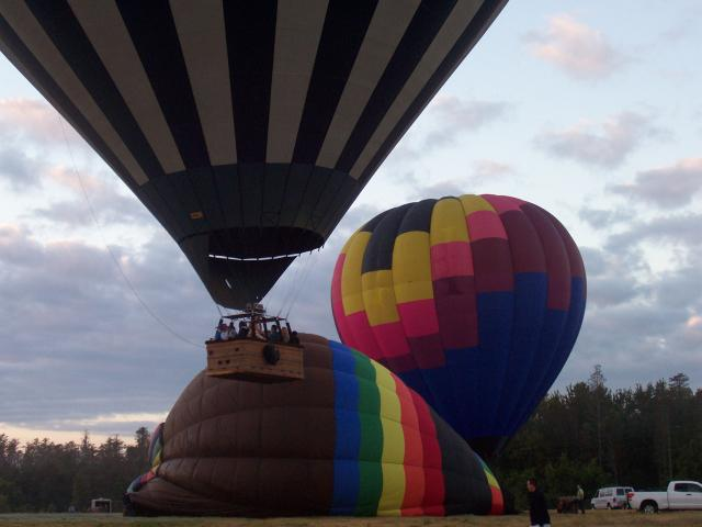 Hot Air Ballooning at Wallaby Ranch
