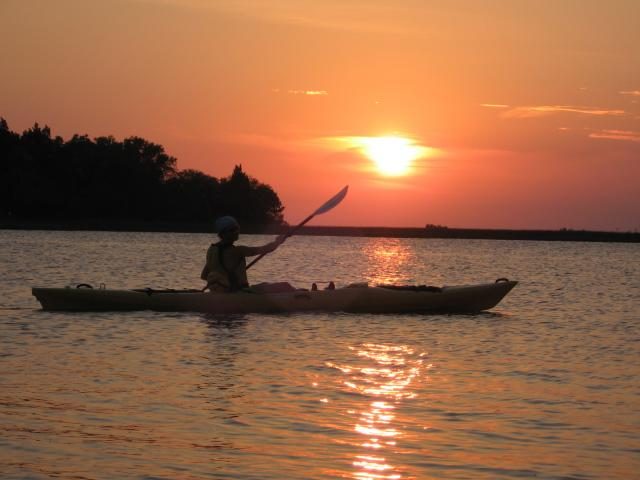 Sunset Kayaking in Cedar Key