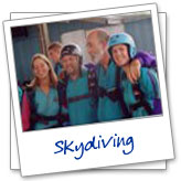 sky dive group
