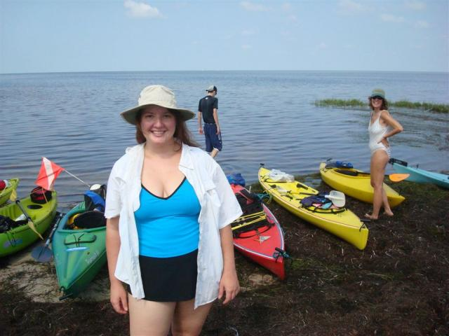 Kayak Scalloping from Hagan's Cove, Steinhatchee, Florida
