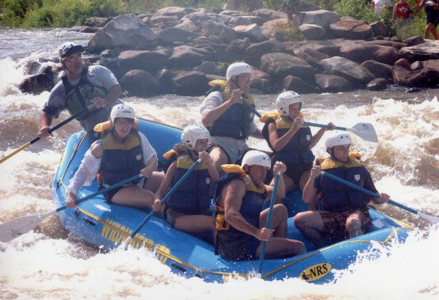 Whitewater Rafting on the Ocoee